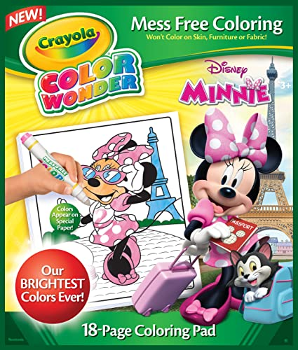 Crayola Minnie Mouse Color Wonder Refill Book