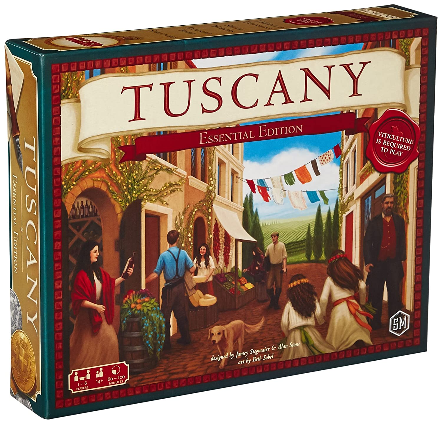 Stonemaier Games Tuscany Essential Edition Board Game