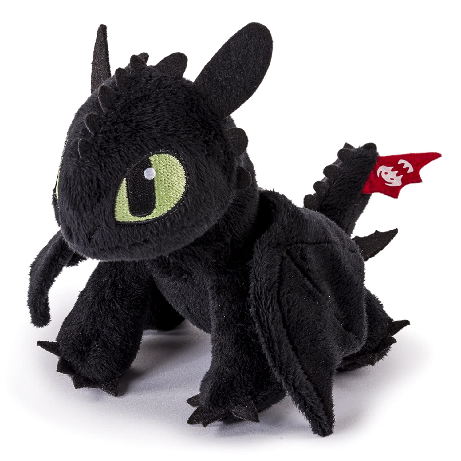 Dreamworks Dragons 20072253 How to Train Your Dragon, 8 Inch Premium Plush, Red Tail Toothless