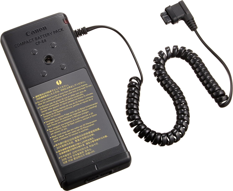 Canon CP-E4 - Pack de baterías para Flash para Canon Speedlite 580EX II (8xAA), Negro: Amazon.es: Electrónica