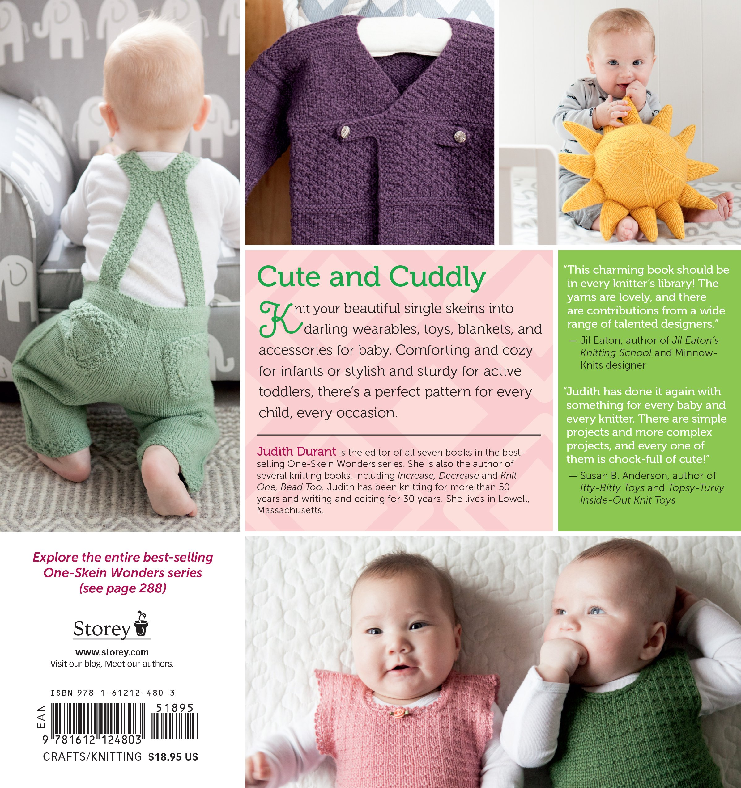 d3f00def7 Amazon.com  One-Skein Wonders® for Babies  101 Knitting Projects for ...