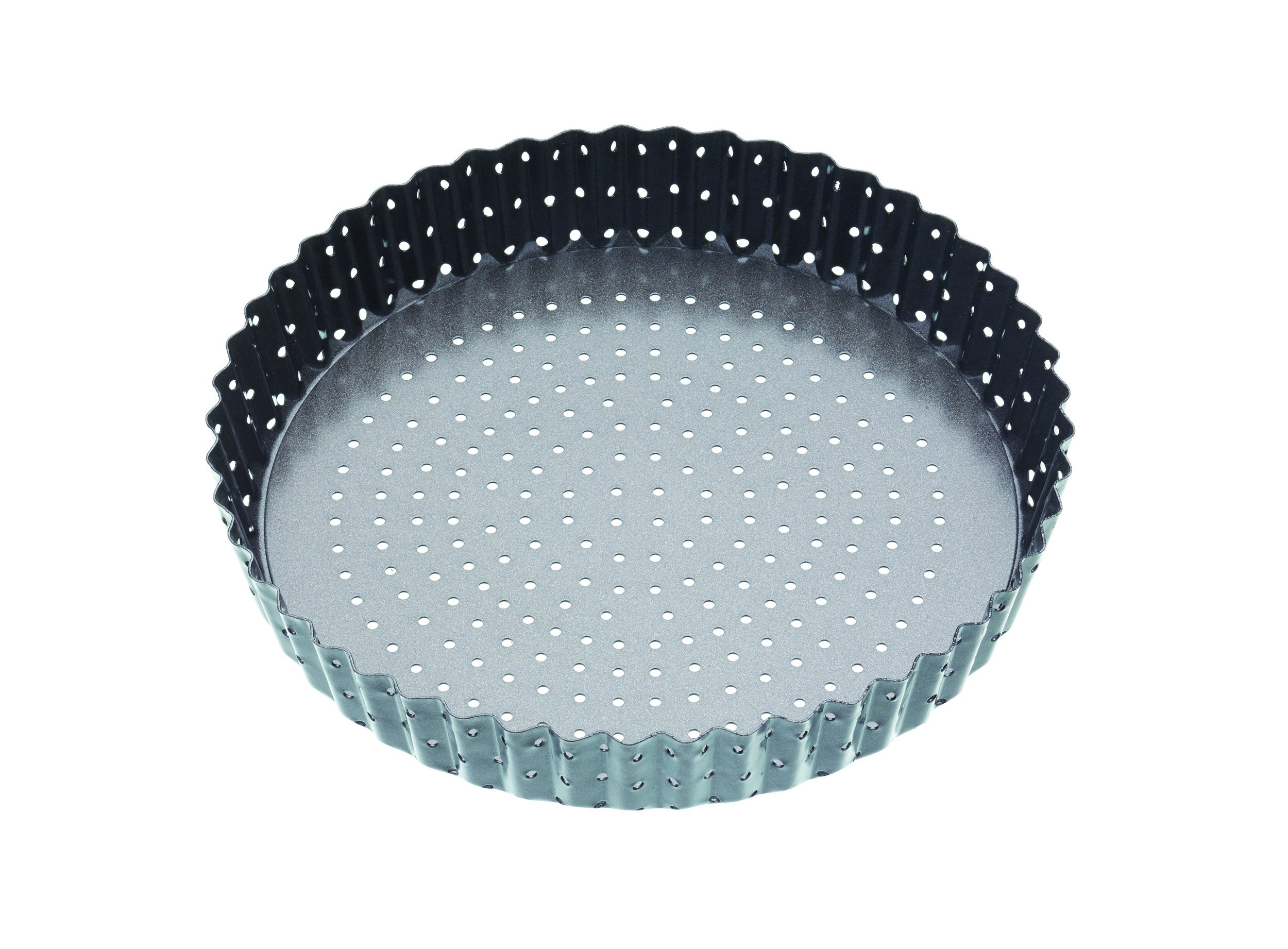 Master Class Crusty Bake Non-stick Loose Base Fluted Tart Tin/quiche Pan 20cm by Master Class