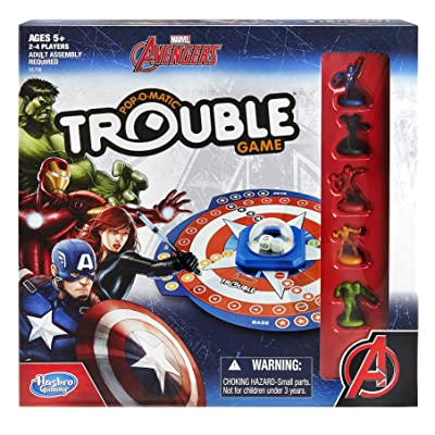 Marvel Avengers Trouble Game: Toys & Games