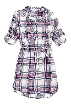 b998732db45 C   C California Women s V Neck Shirt Dress at Amazon Women s ...