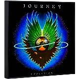 """Journey """"Evolution"""" Framed Album Cover Wall Art 70's 80's Rock Band"""