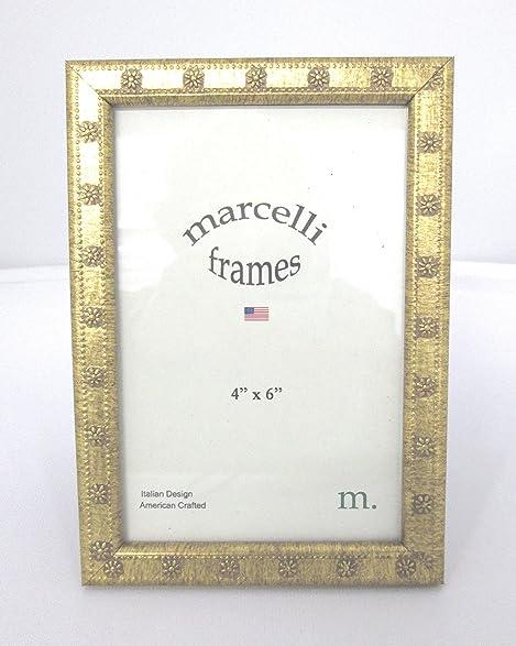 Amazon.com - Marcelli Thin Gold Daisy Wood Frame -