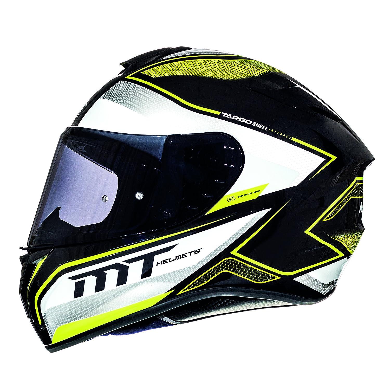 MT Targo Moto Integral Helmet Scooter L (59-60cm) Black/Pearl White/Grey