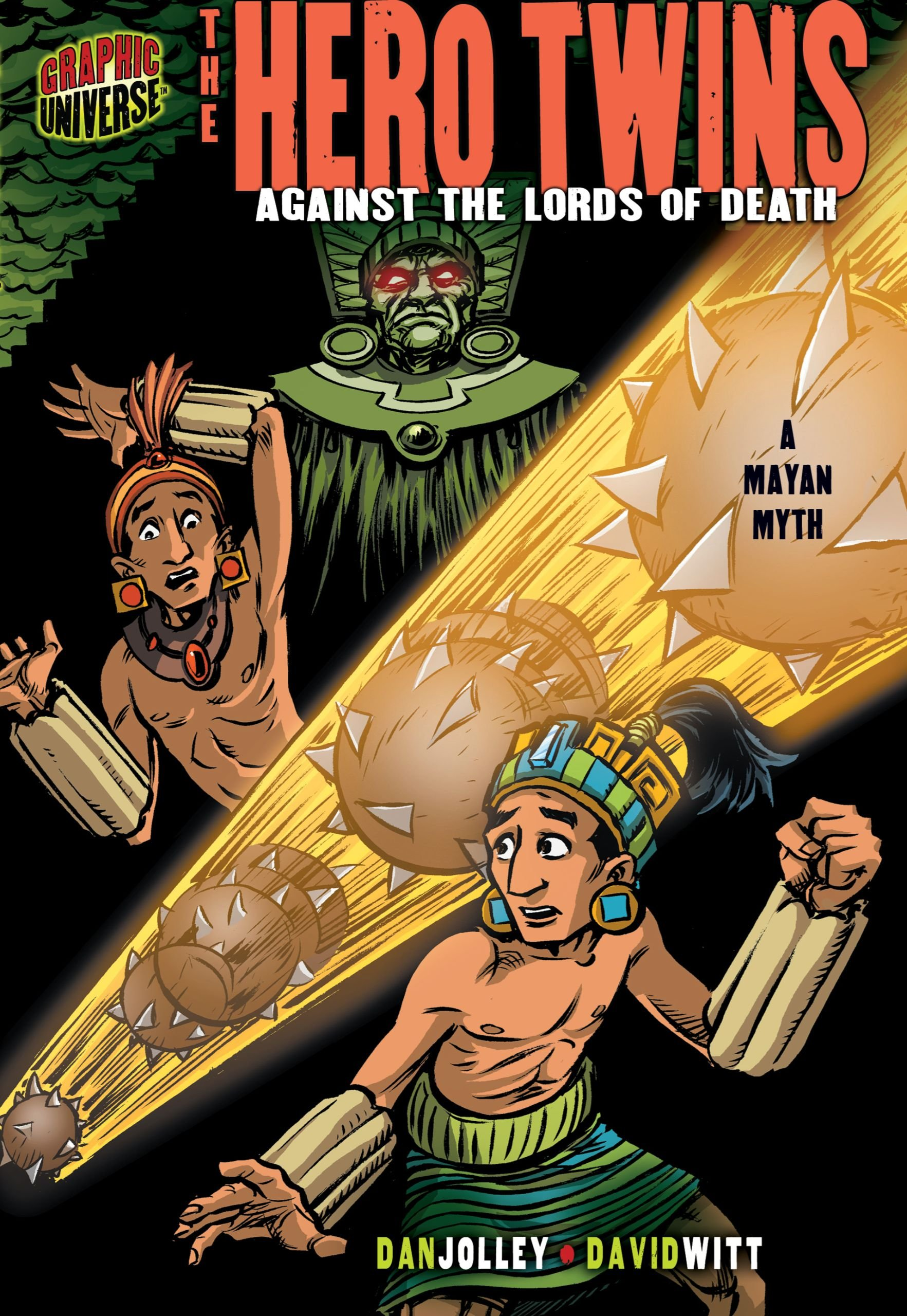 The Hero Twins: Against the Lords of Death [a Mayan Myth] (Graphic Myths and Legends) PDF