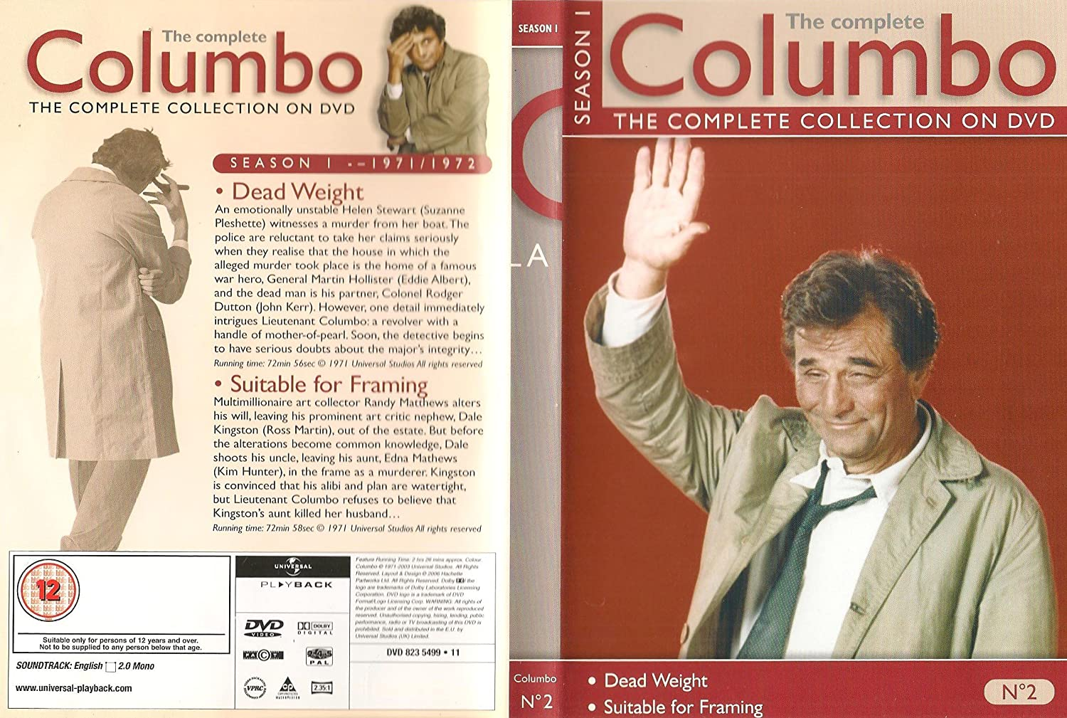 Columbo Collection - Dead Weight / Suitable for Framing: Amazon.co ...