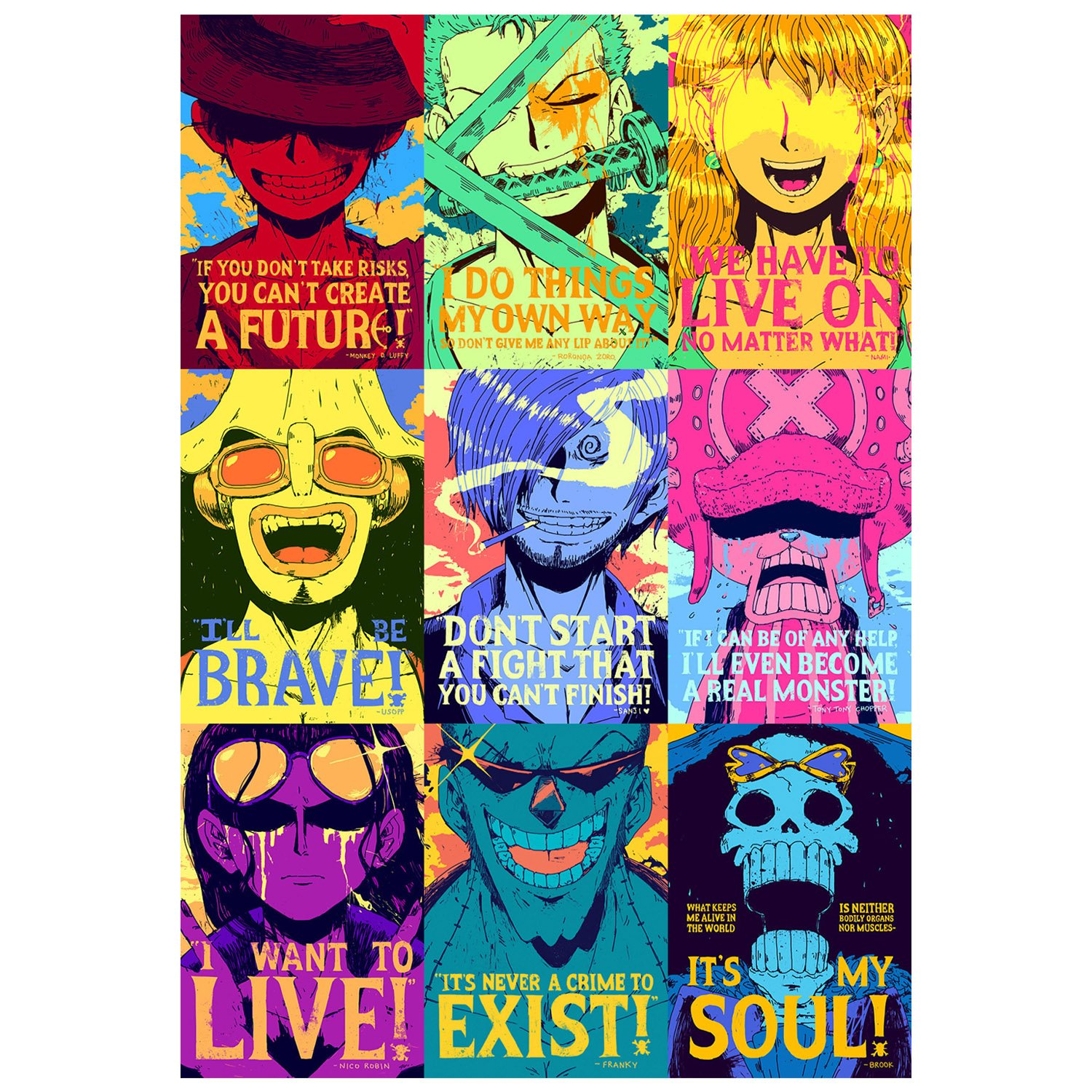 Poster4U One Piece Strong World Japan Anime Art Poster Print 12 Inch X 18 HD006 Amazonin Home Kitchen