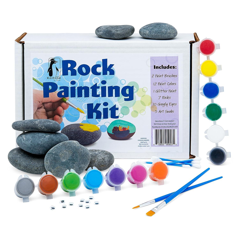 Amazon Com Koltose By Mash Rock Painting Kit Rock Painting