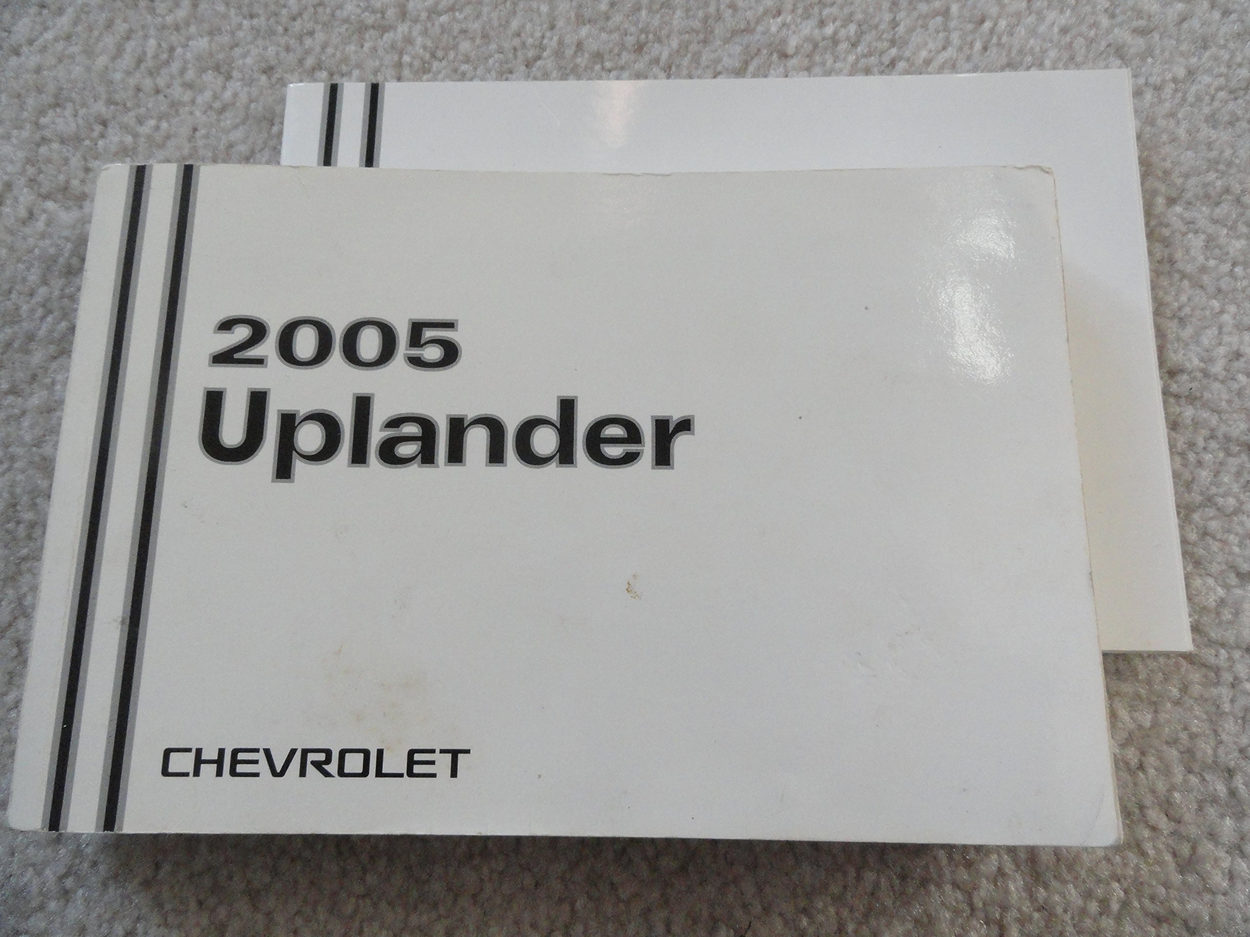 amazon com 2005 chevrolet uplander owners manual chevrolet books rh amazon com 2005 Chevy Uplander Service Manual 2007 Chevy Uplander Service Manual