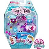 Twisty Petz, Series 3 Blingz, Pony and Zebra Customizable Bracelet Set for Kids Aged 4 and Up