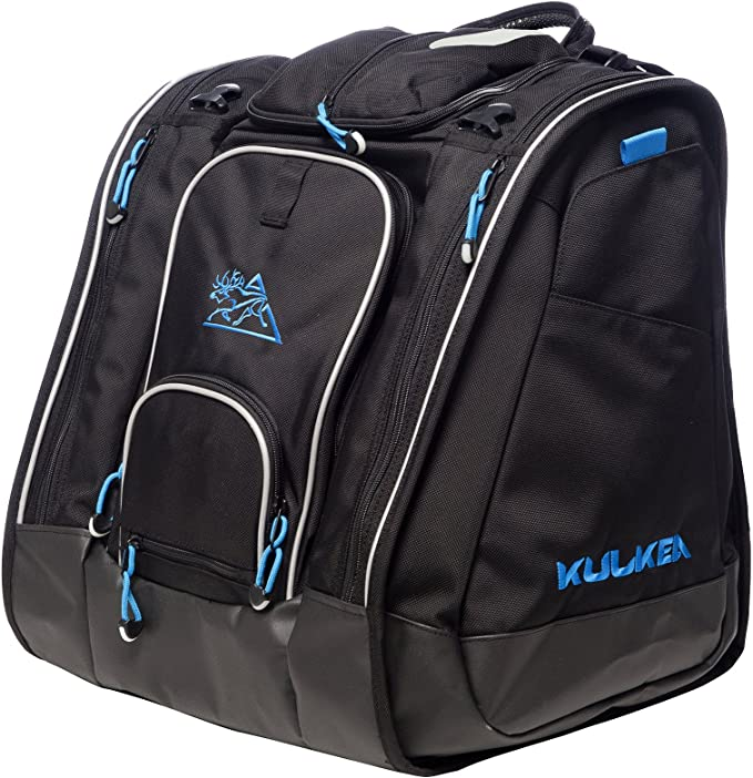 Amazon Com Kulkea Boot Trekker Black Blue Sports Outdoors