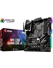 MSI MPG Z390 Gaming Edge AC LGA1151 (Intel 8th and 9th Gen) M.2 USB 3.1 Gen 2 DDR4 HDMI DP Wi-Fi SLI CFX ATX Motherboard