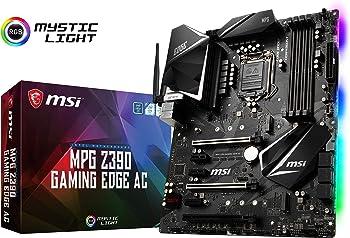 MSI MPG Z390 GAMING EDGE AC LGA 1151 Intel Z390 ATX Intel Motherboard