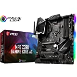 MSI MPG Z390 Gaming Edge AC LGA1151 (Intel 8th and 9th Gen) M.2 USB 3.1 Gen 2 DDR4 HDMI DP Wi-Fi SLI CFX ATX Z390 Gaming…