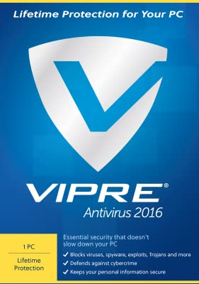 VIPRE Antivirus 2016 PC Lifetime Security [Download]