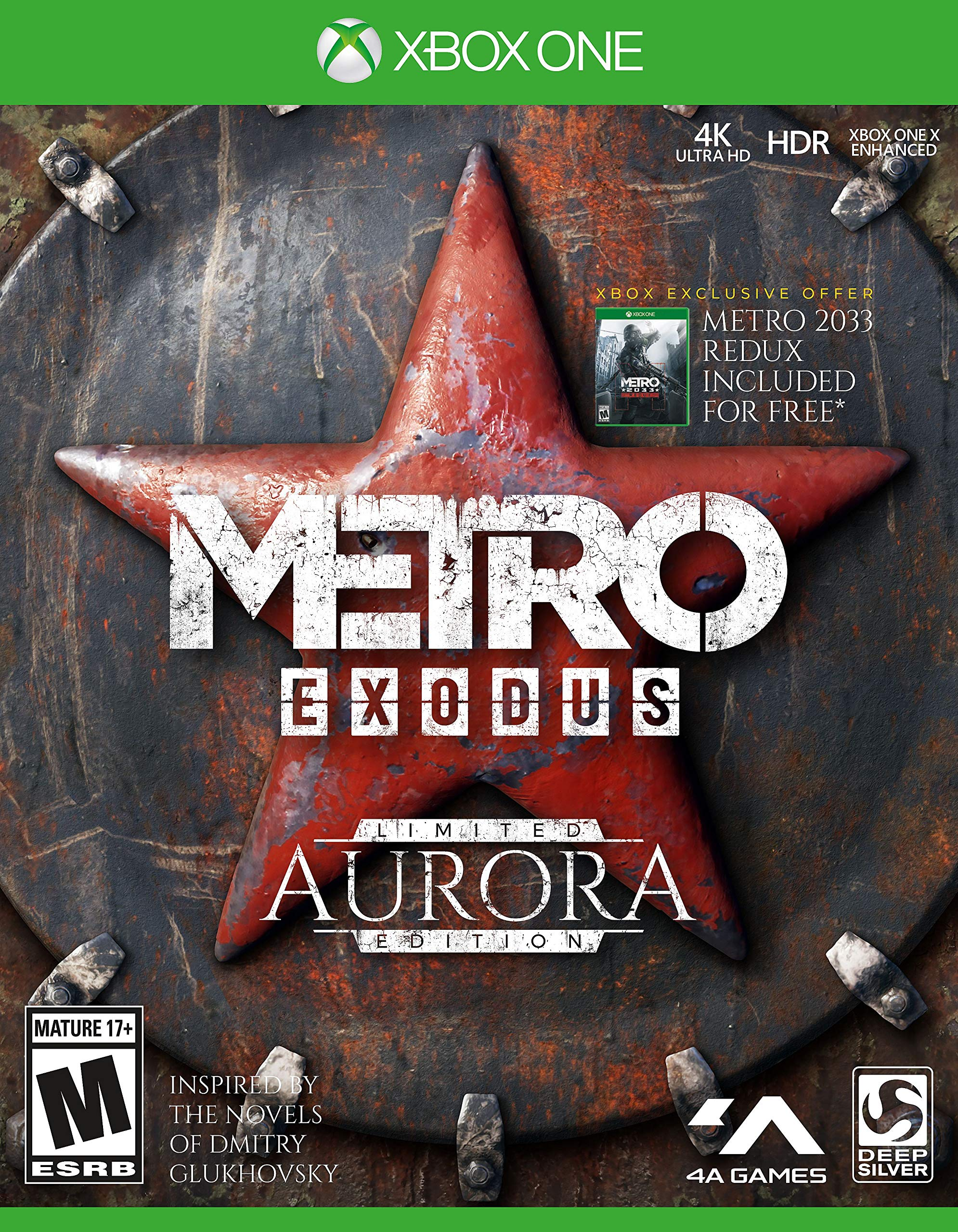 Metro Exodus: Aurora Limited Edition – Xbox One
