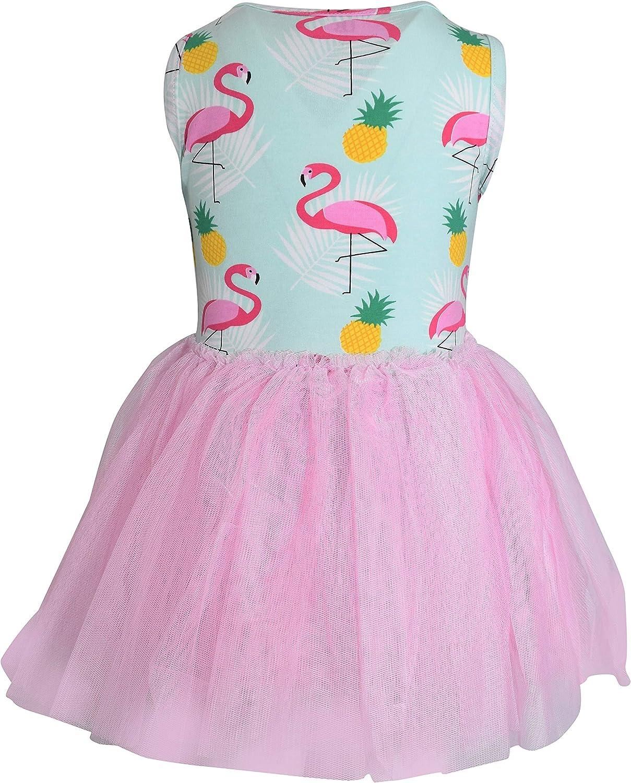 Unique Baby Girls Summer Flamingo Pineapple Tutu Dress 81zQRizsjRL