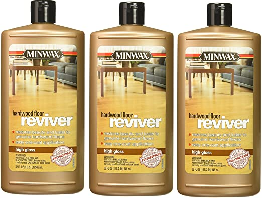 Minwax 609604444 Hardwood Floor Reviver 32 Ounce Low Gloss
