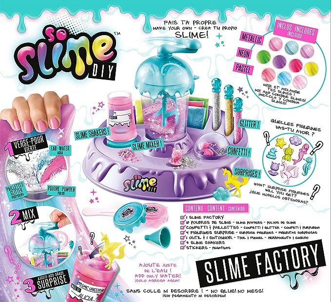 Canal Toys SSC 002 Slime Factory - Juego creativo, color morado, 34 x 31 x 8 cm