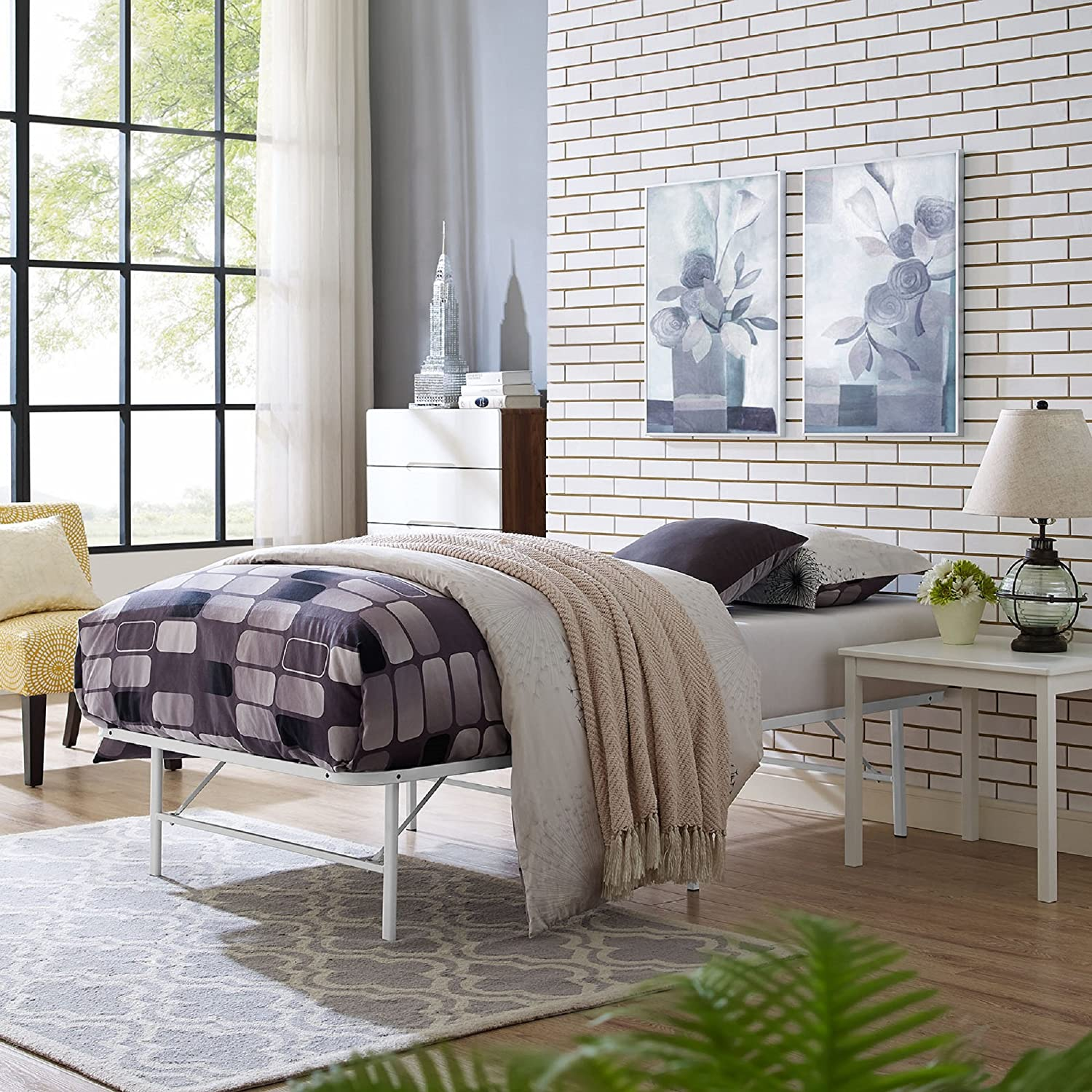 Best for Durability Twin Bed: Modway Horizon