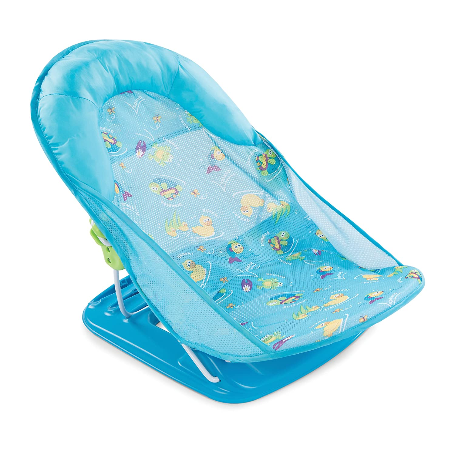 Baby bath chairs for the tub - Summer Infant Deluxe Baby Bather Blue