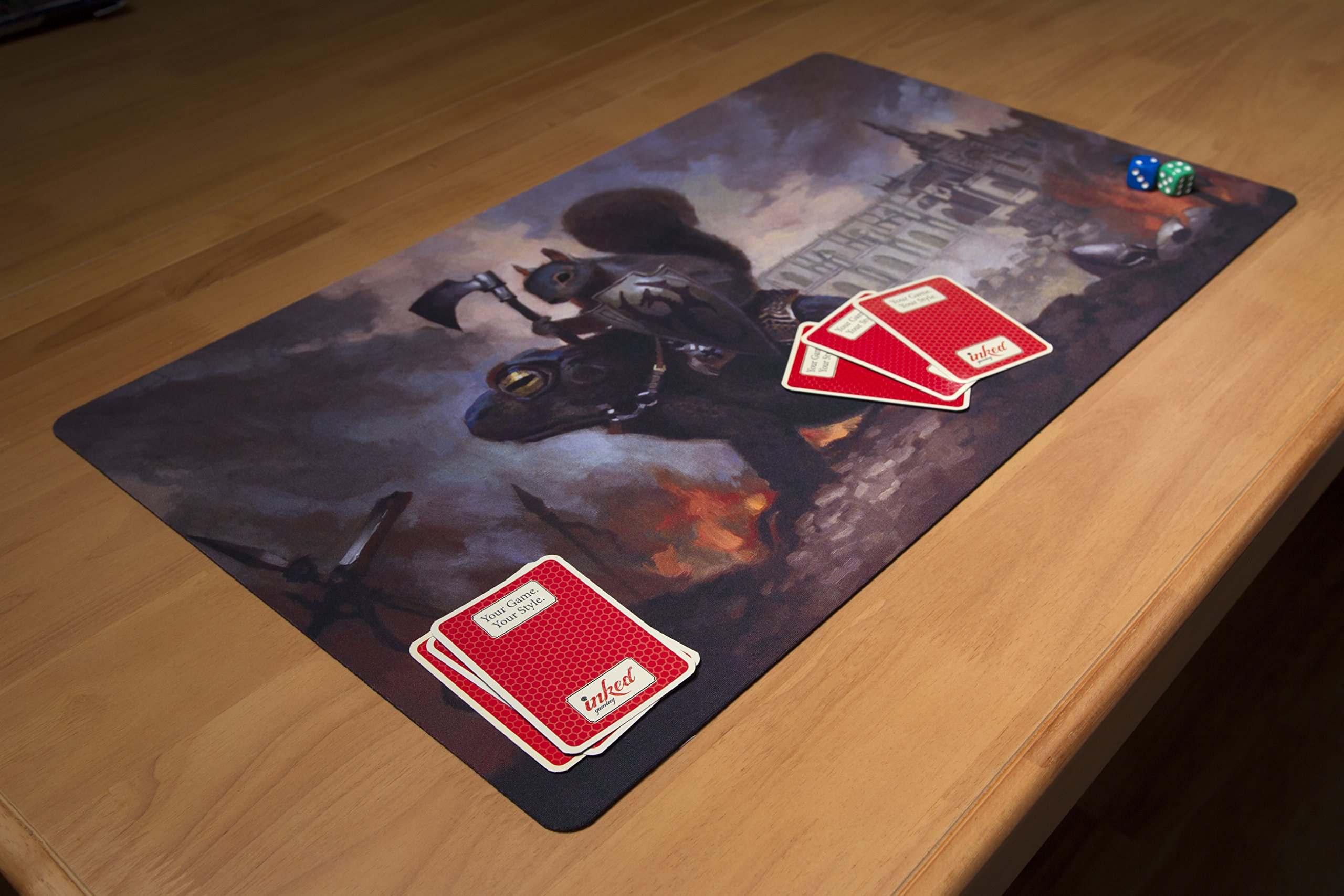 Inked Playmats Toad Rider Playmat Inked Gaming Perfect for Card Gaming TCG Game Mat by Inked Playmats (Image #2)