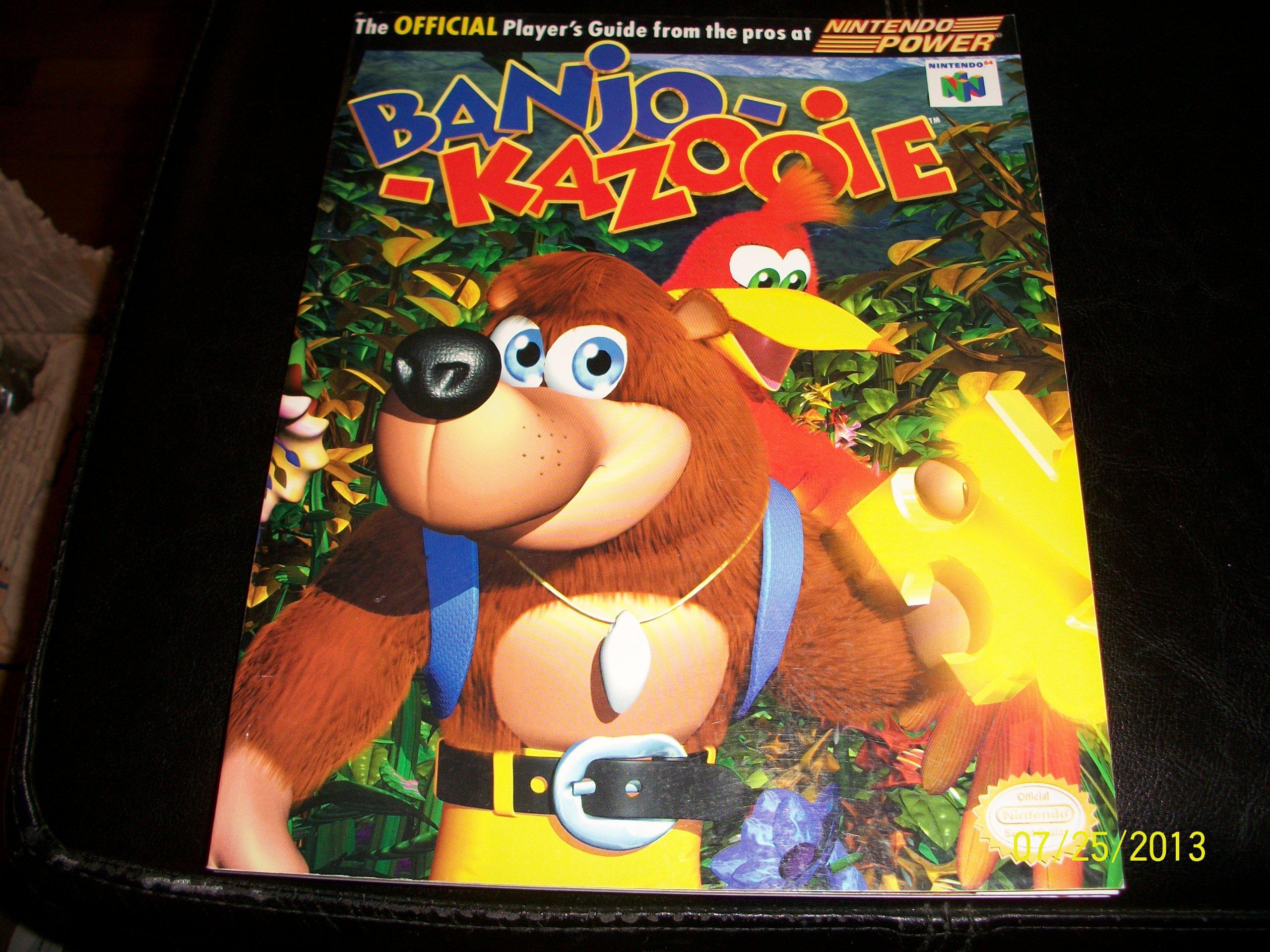 Banjo-Kazooie Player's Guide: Nintendo: Amazon com: Books