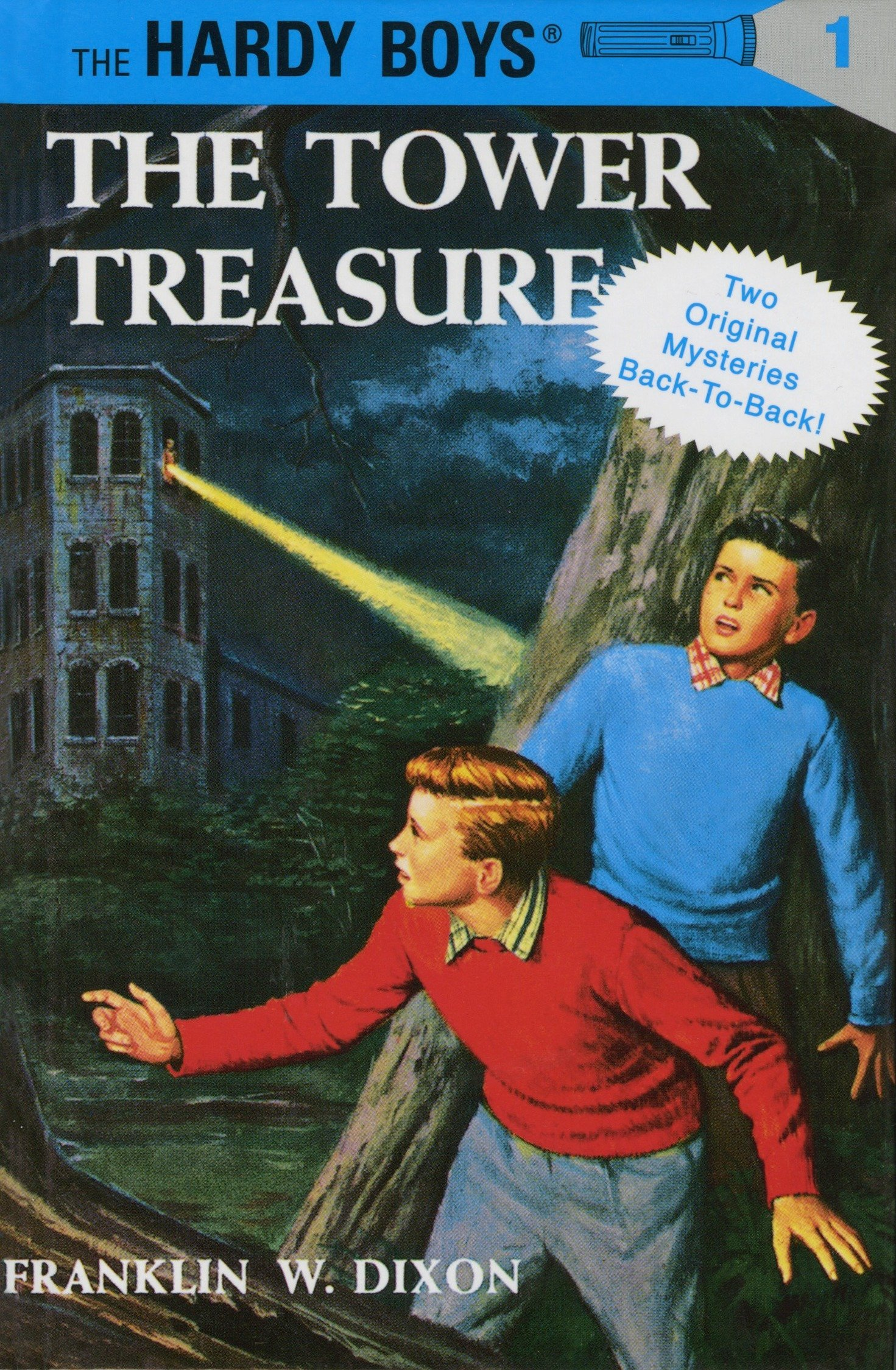 The Tower Treasure / The House on the Cliff (The Hardy Boys, 2 Books in 1):  Dixon, Franklin W.: 9780448089645: Amazon.com: Books