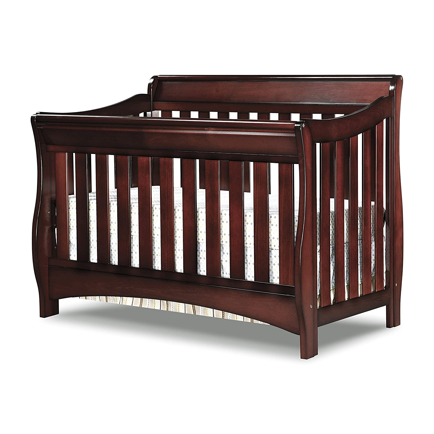 Amazon Delta Children Bentley S Series 4 In 1 Crib Black Cherry Espresso Baby