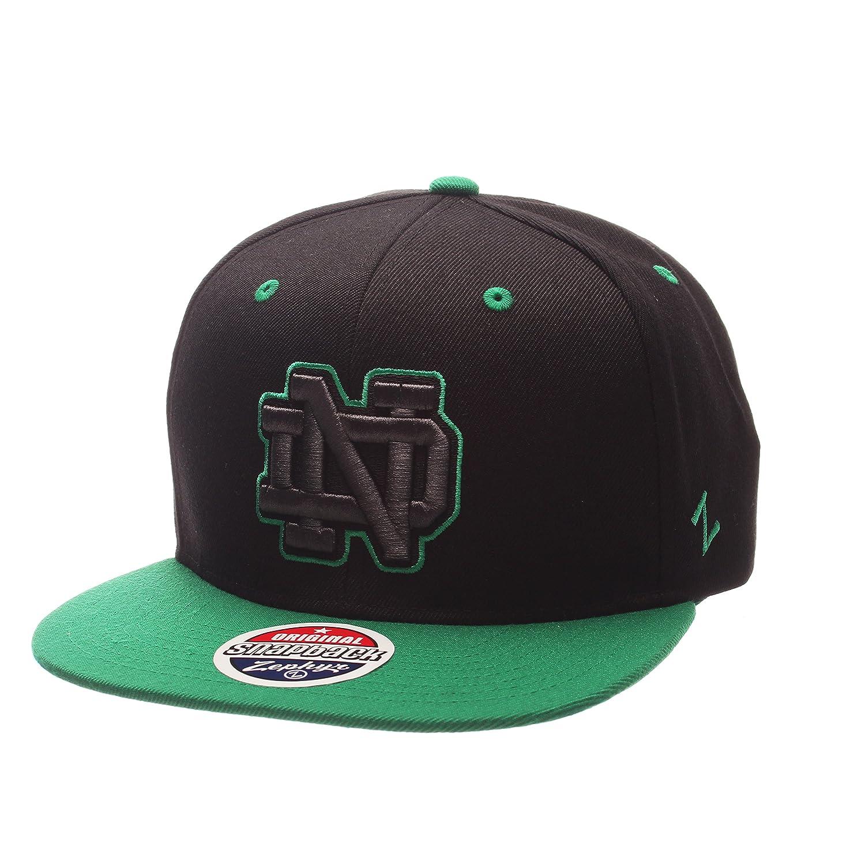 Zephyr Adult Men Z11 Phantom Snapback Hat Adjustable Size Black//Team Color