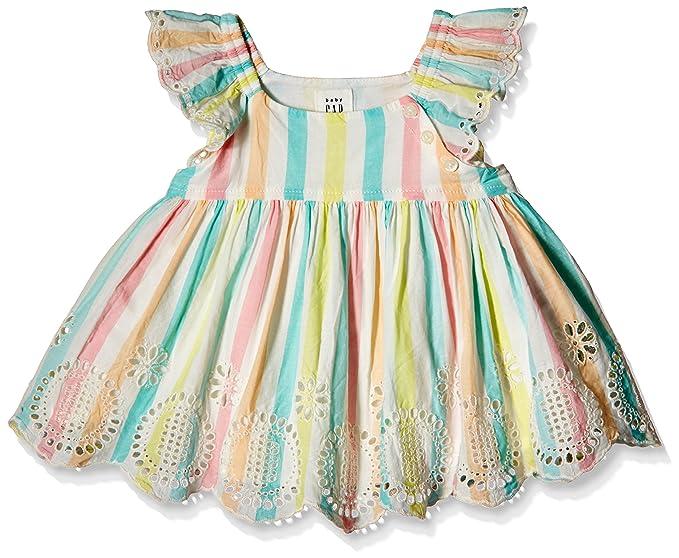 6534c9101aa5 GAP Baby Girl Pastel Stripe Eyelet Flutter Top (73298990900_Multi  Stripe_18-24M)