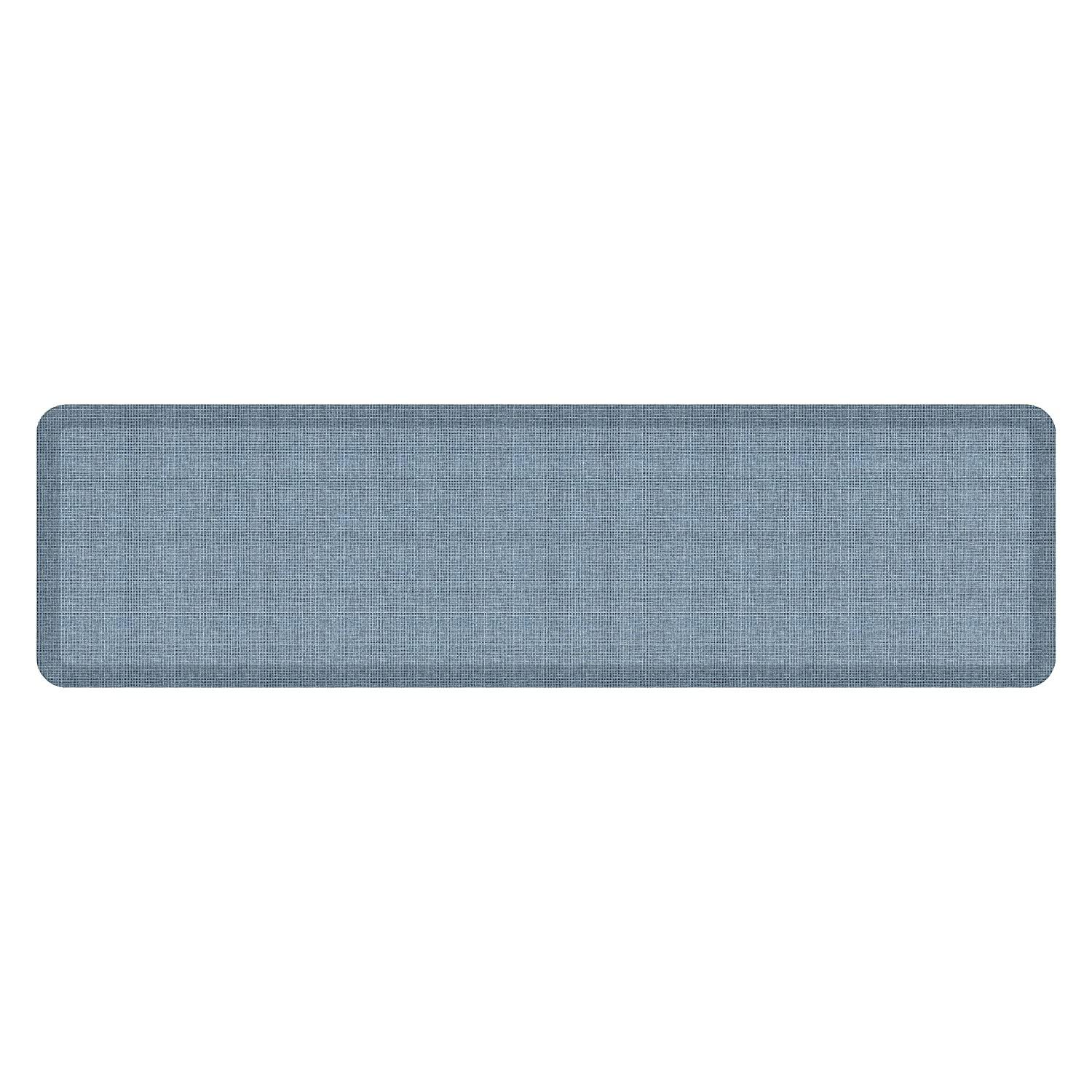 Tweed Hydrangea 20  x 72  NewLife by GelPro Designer Comfort Mat, 20 by 72-Inch, Lattice Mineral Grey