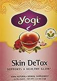 Yogi Organic Herbal Skin Detox 16 TEA BAGS-NET WT 1.12OZ