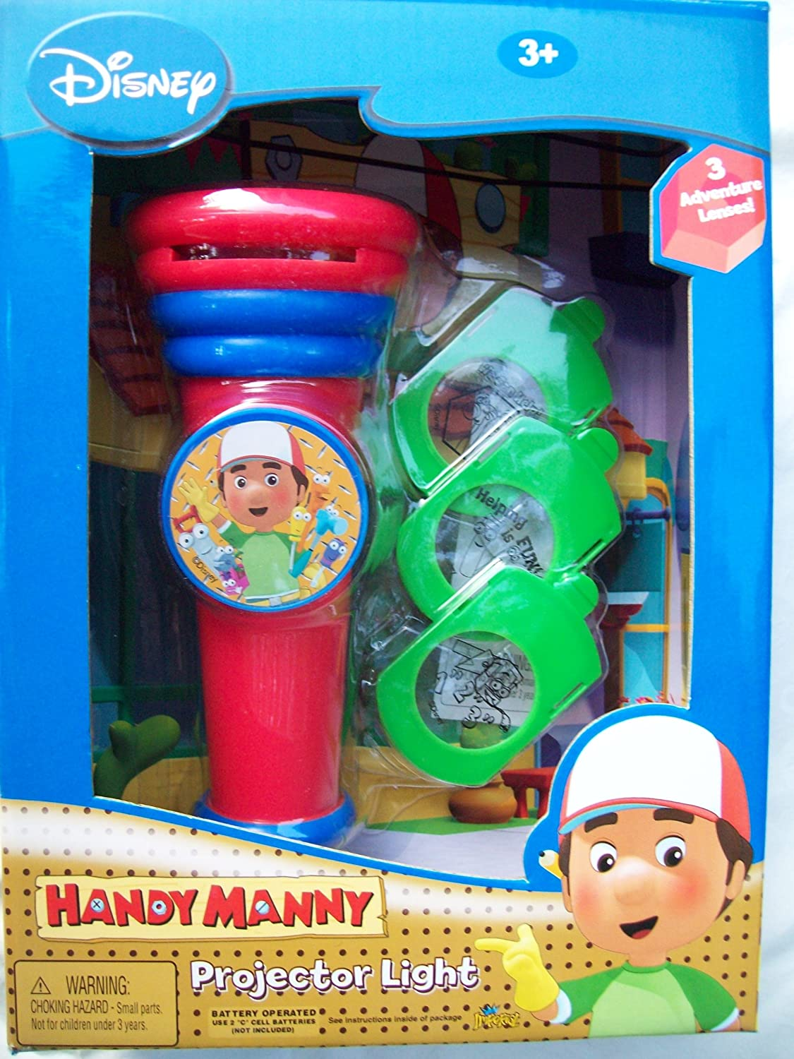 Disney Handy Manny - Lámpara de proyector: Amazon.es: Bebé