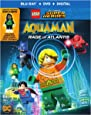 LEGO DC Super Heroes: Aquaman: Rage of Atlantis w/mini figurine (Blu-ray)