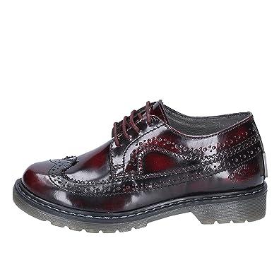BEVERLY HILLS POLO CLUB - Zapatos de Cordones de Cuero para niño ...
