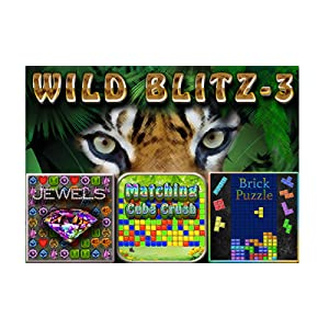 Wild Blitz 3 Games - Brick Puzzle, Jewel Play, Matching Cube ...
