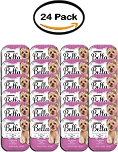 Purina Bella Pack of 24 Filet Mignon Flavor in Savory Juices Adult Wet Dog Food 3.5 oz. Tray