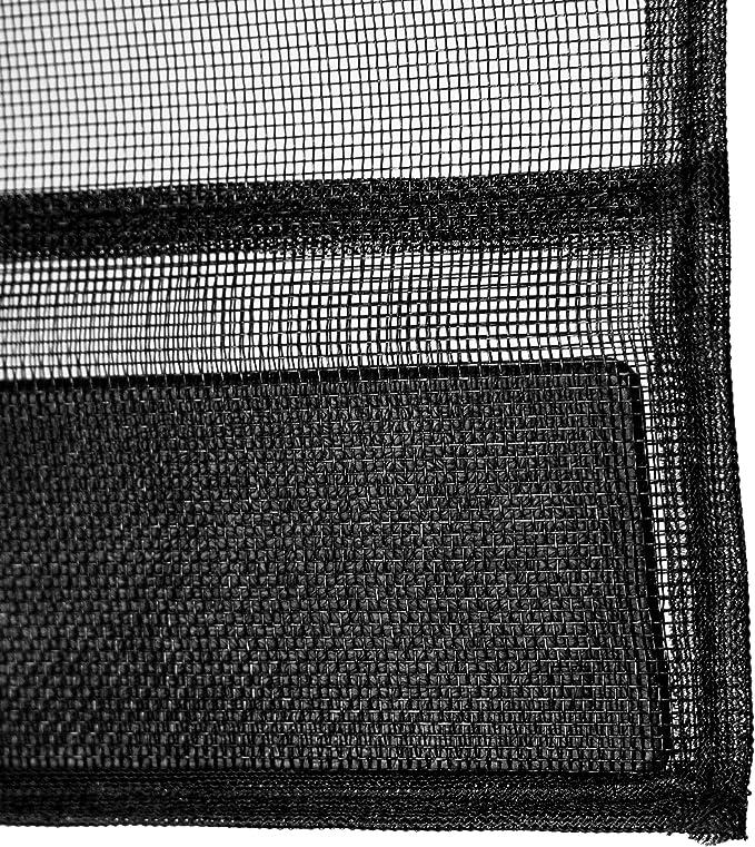 Fliegengitter Insektenschutz T/ür Lamellenvorhang Vorhang M/ückenschutz 100 x 220 cm schwarz