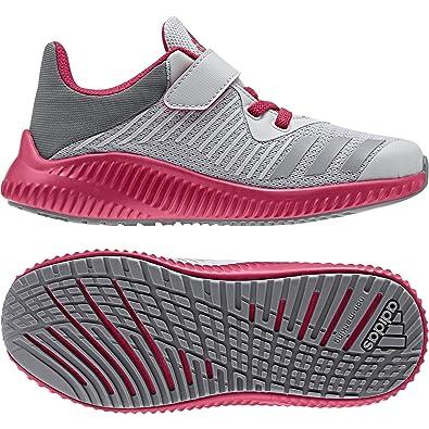 b322a5419 adidas Unisex Kids' Fortarun El K Fitness Shoes, (Gridos/Gritre/Rosene