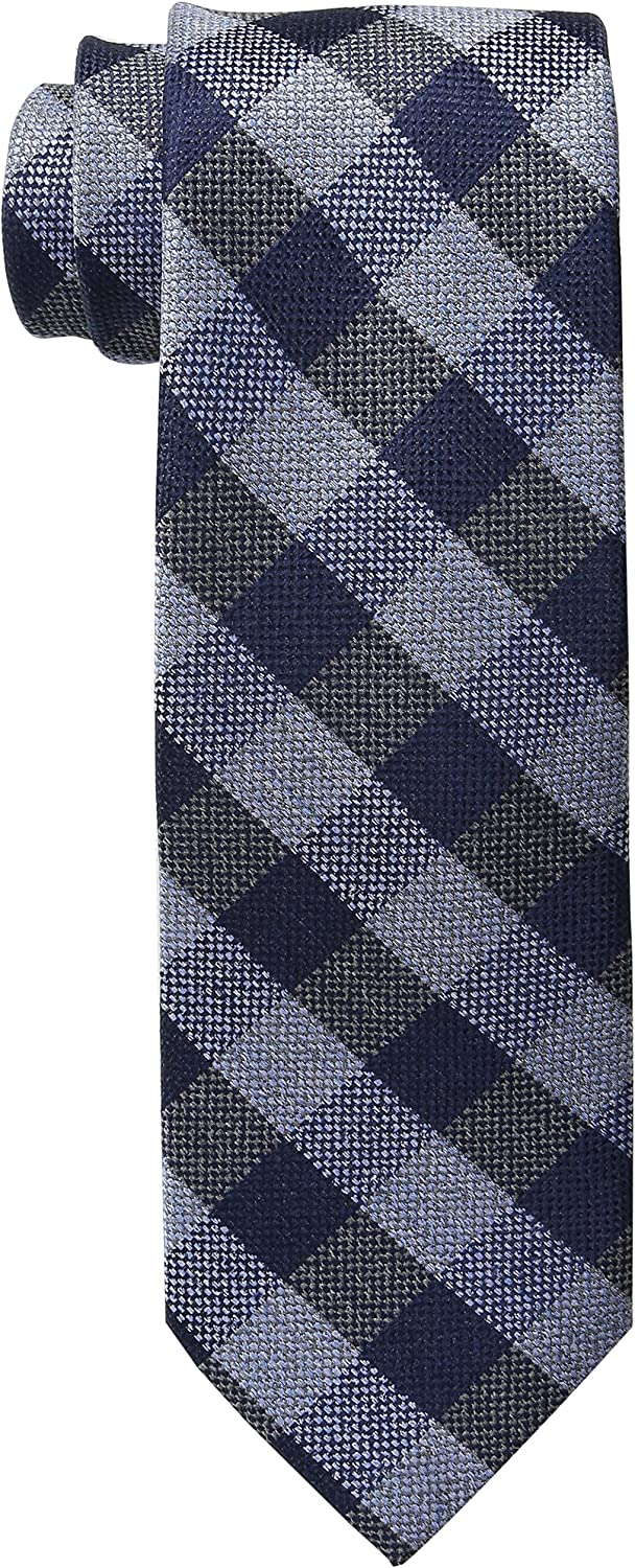 Tommy Hilfiger Mens Short-Sleeve Checked Tie