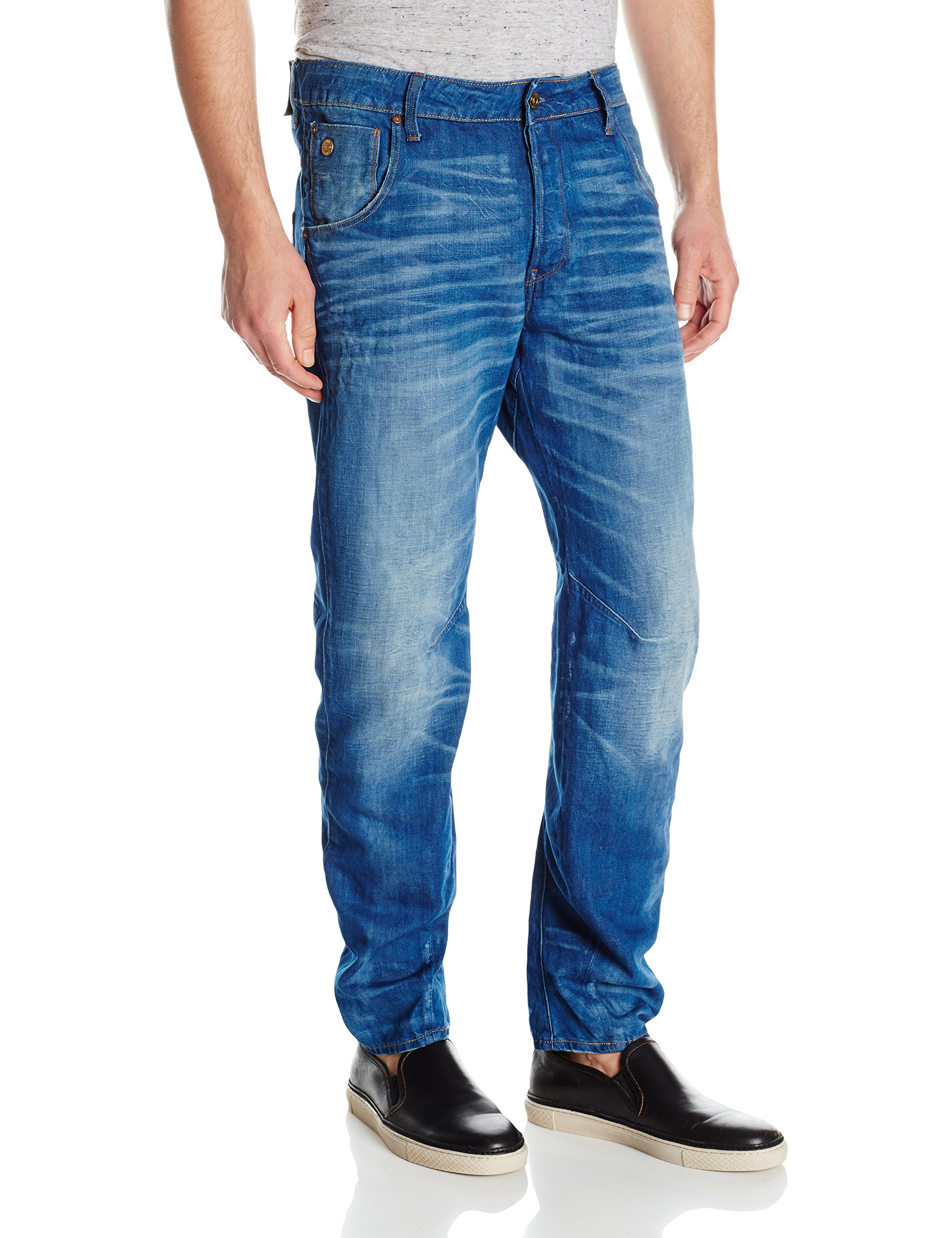 G-Star Raw Men's Arc 3D Tapered Klaso Denim, Medium Aged, 38 by G-Star Raw (Image #1)