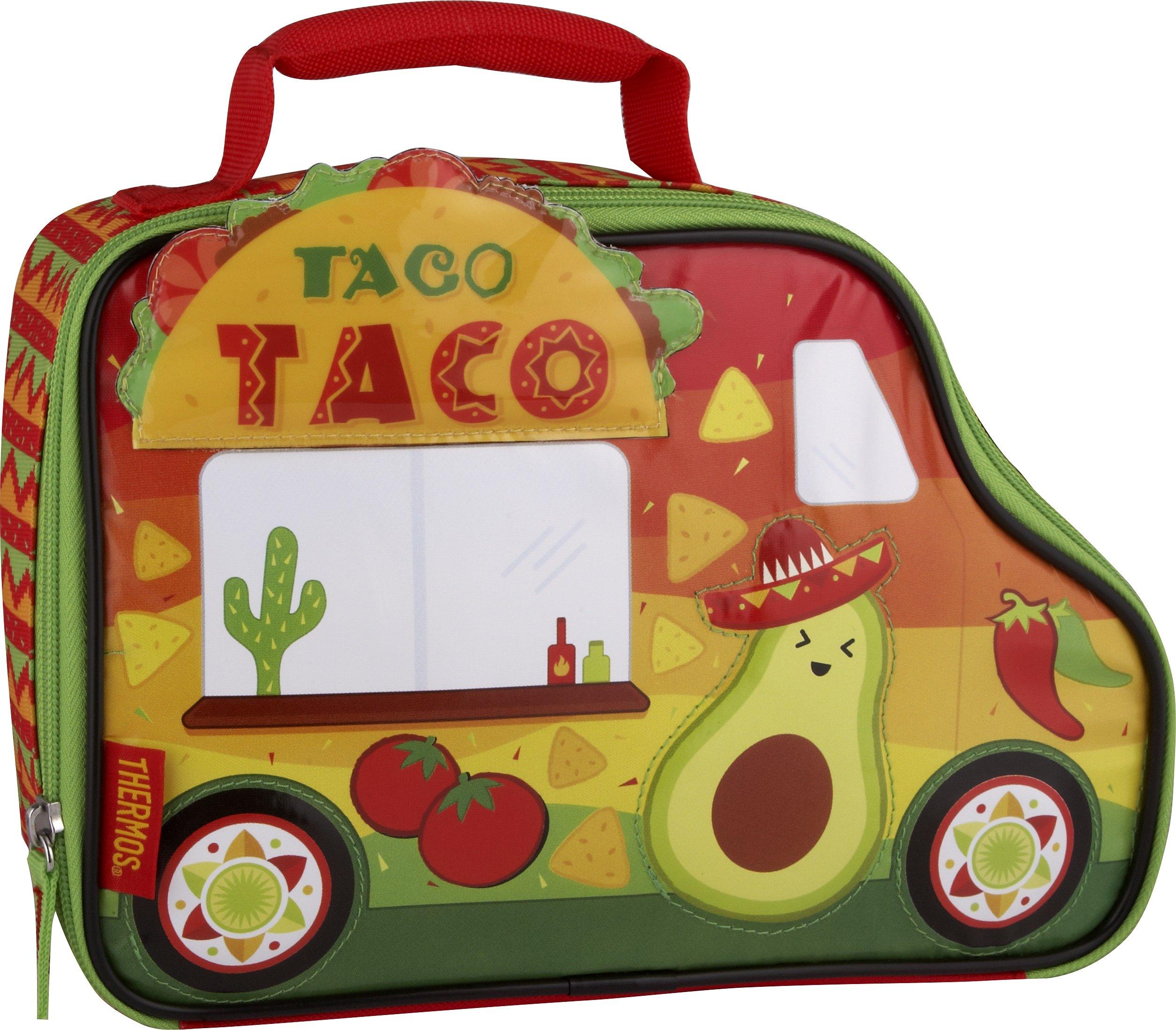 써모스 도시락 가방 Thermos Novelty Lunch Kit, Cars & Trucks - Taco Truck