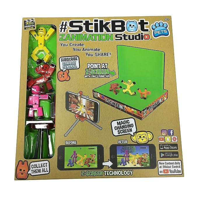 Par Zing S1009 stikbot zanimation Studio