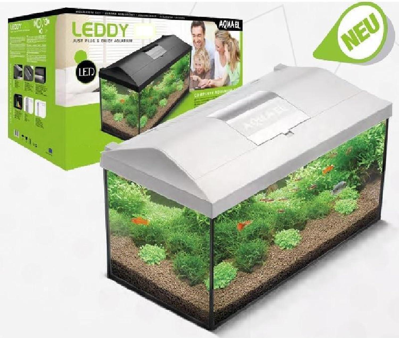 Aquael Acuarios Juego Leddy RE 80 Blanco, 75 x 35 x 40 cm, 105 L: Amazon.es: Productos para mascotas