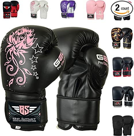 Kids Boxing Gloves Children Youth Sparring Training Fitness Boxing Glove Unisex