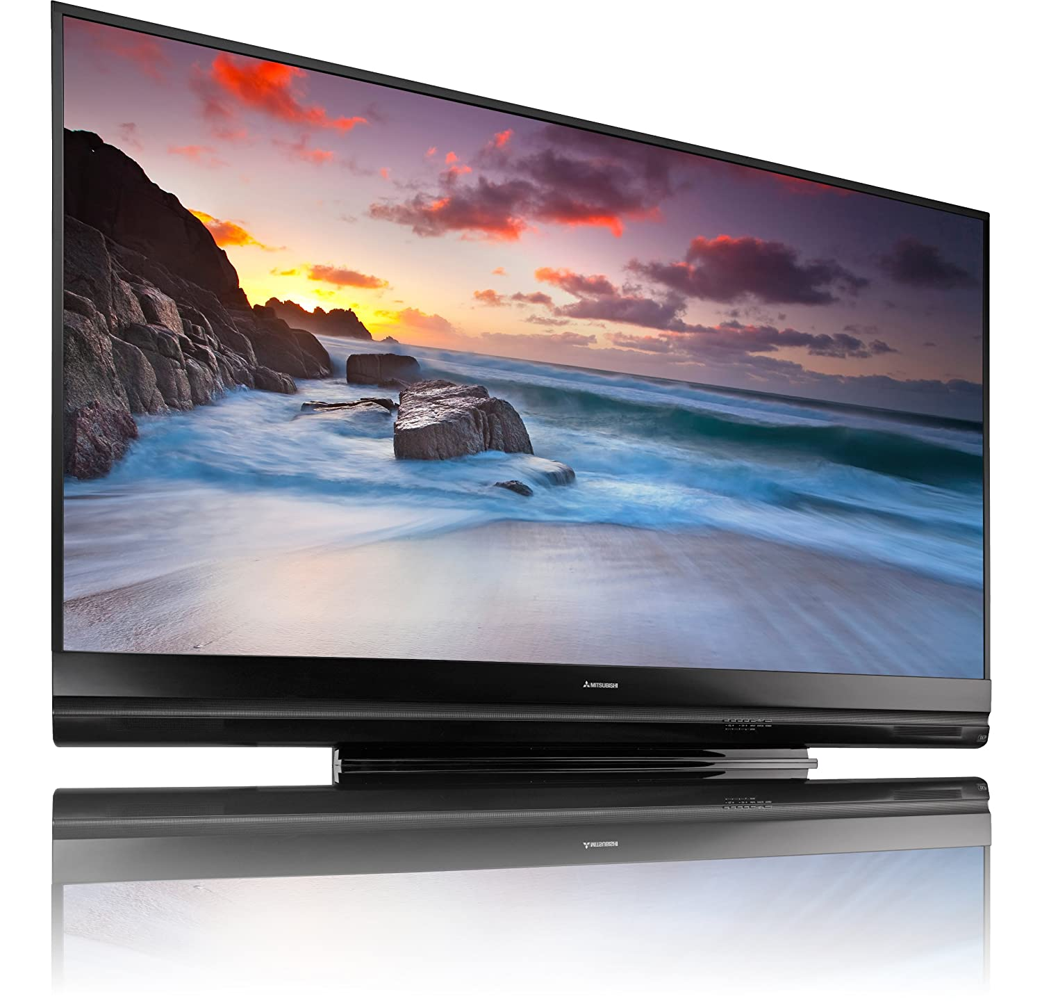 Mitsubishi WD-73740 73-Inch 1080p Projection TV (2011 Model): Amazon